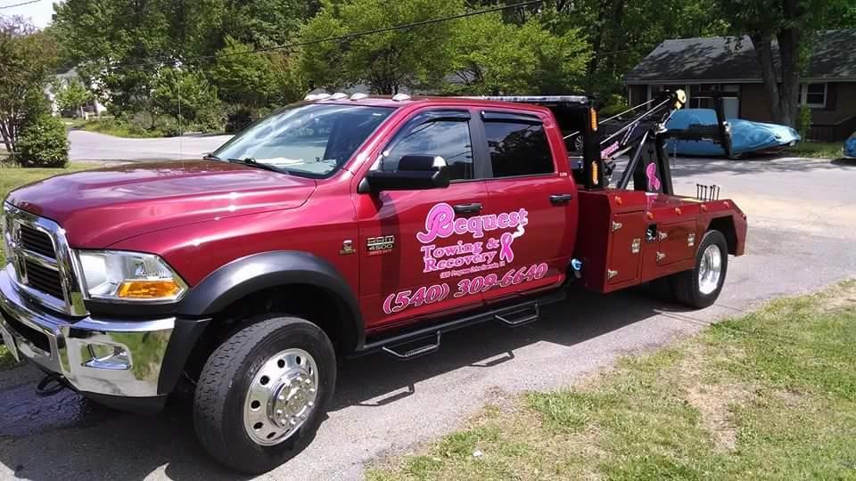 tow truck Roanoke